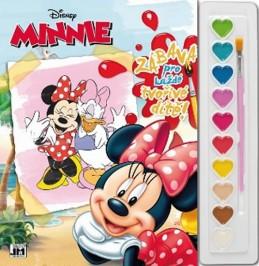 Minnie - Omalovánky s barvami A4 - neuveden