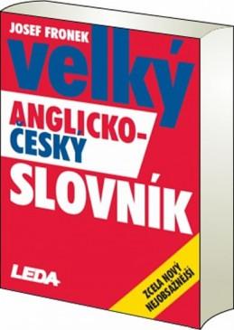 Velký AČ-ČA slovník - Fronek (2 knihy) - Fronek Josef
