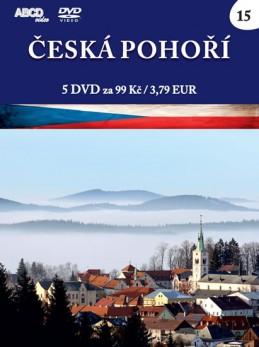 Česká pohoří - 5 DVD - neuveden