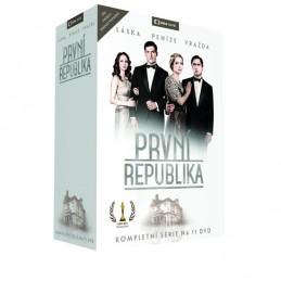 První republika - 11 DVD - neuveden