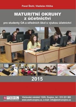 Maturitní okruhy z účetnictví 2015 - Štohl Pavel