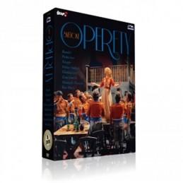 Slavné světové operety - 8 DVD - neuveden