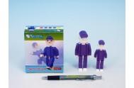 Seváček fialový 1+1 plast v krabici 9x10x5cm