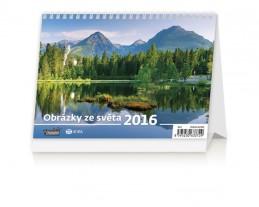 Kalendář stolní 2016 - Obrázky ze světa - neuveden