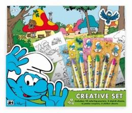 Šmoulové - Kreativní set - neuveden