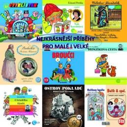 Nejkrásnější příběhy pro malé i velké - CD - neuveden