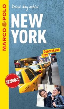 New York / průvodce na spirále s mapou MD - neuveden