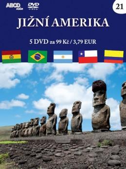 Jižní Amerika - 5 DVD - neuveden