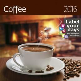 Kalendář nástěnný 2016 - Coffee - neuveden