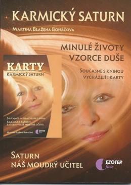 Karmický Saturn (kniha + karty 27 ks) - Boháčová Martina Blažena