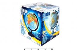 Globus zeměpisný svítící - 250 mm - neuveden