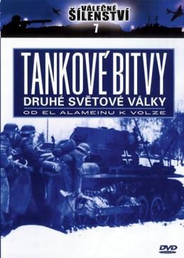 Tankové bitvy 2. světové války - DVD - neuveden