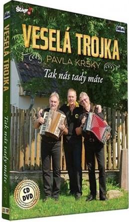 Veselá trojka - Tak nás tady máte - CD+DVD - neuveden