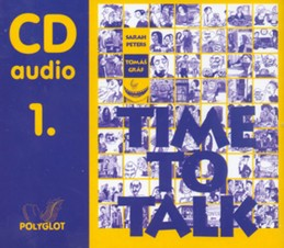 Time to talk 1 - audio CD - Peters Sarah, Gráf Tomáš