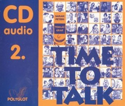 Time to talk 2 - audio CD - Peters Sarah, Gráf Tomáš