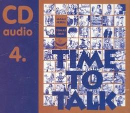 Time to talk 4 - audio CD - Peters Sarah, Gráf Tomáš