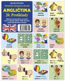 Najdi dvojici - Angličtina - 20. Protiklady - kolektiv autorů