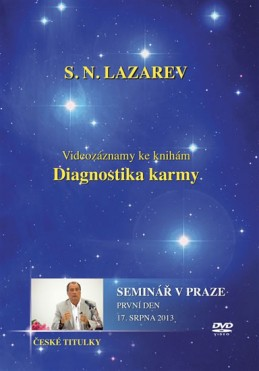 Seminář v Praze 17.8. 2013 - DVD (Diagnostika karmy) - Lazarev S.N.