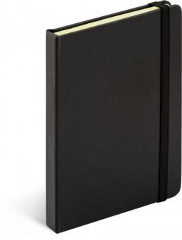 Notes Tucson černá/černá, 13 x 21 cm - neuveden