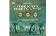 Staré pověsti české a moravské - 3 CD (Čtou Bolek Polívka, Jan Kačer, Jan Potměšil, Veronika Gajerová)