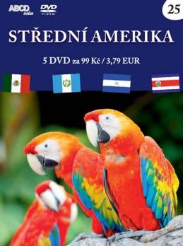 Střední Amerika - 5 DVD - neuveden