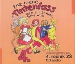 Ene mene Tintenfass 4 audio CD - Jankásková Miluše, Ulbert Karla, Dusilová Doris