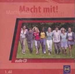 Macht Mit 3 audio CD - Jankásková Miluše,Dusilová Doris,Schneider Mark,Krüger Jens,Kolocová Vladimíra