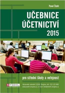 Učebnice Účetnictví II. díl 2015 - Štohl Pavel