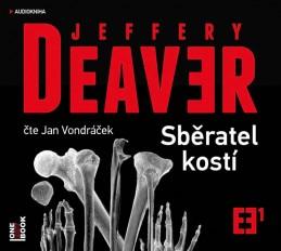 Sběratel kostí - CDmp3 (Čte Jan Vondráček) - Deaver Jeffery