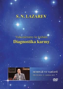 Seminář ve Varšavě 21.2.2012 - DVD (Diagnostika karmy) - Lazarev S.N.