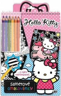 Hello Kitty 2 - Sametové omalovánky - neuveden