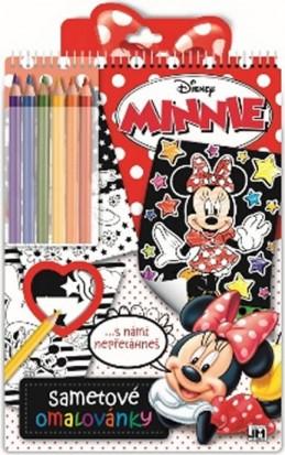 Minnie - Sametové omalovánky - neuveden