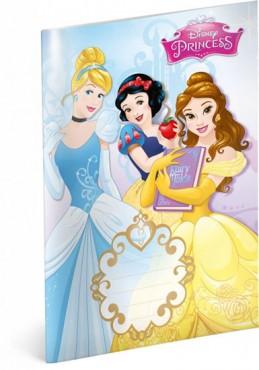 Sešit Princess Trio, 14,8 x 21 cm - neuveden