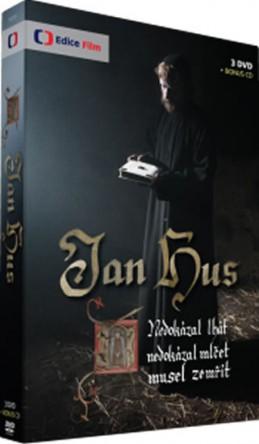 Jan Hus - 3 DVD + bonus 1 DVD - neuveden
