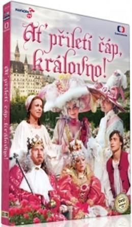 Ať přiletí čáp, královno! - DVD - neuveden