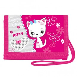 Peněženka na krk - Kitty - neuveden