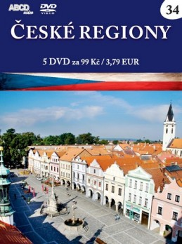České regiony - 5 DVD - neuveden