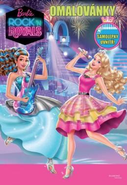 Barbie RocknRoyals - Omalovánky - Mattel