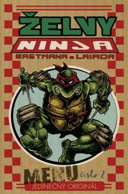 Želvy Ninja - Menu číslo 2 - Eastman Kevin, Laird Peter
