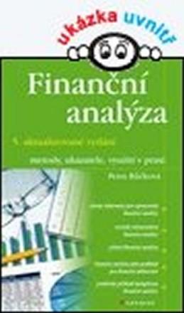 Finanční analýzy - metody, ukazatele, využití v praxi - Růčková Petra