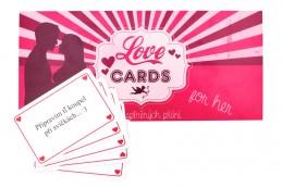 LOVE CARDS - Karty splněných přání PRO NI - neuveden