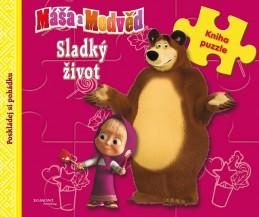 Máša a medvěd - Sladký život (kniha s puzzle) - Animaccord