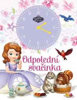 Sofie První - Odpolední svačinka (kniha s hodinami) - Disney Walt