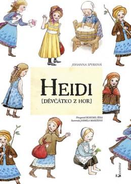 Heidi /Děvčátko z hor/ - Spyriová Johanna