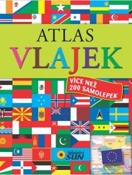 Atlas vlajek se samolepkami - 3. vydání - neuveden