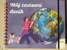 Můj cestovní deník - ilustrovaný zápisník pro děti od 9-12 let - neuveden