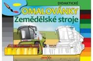 Zemědělské stroje - Didaktické omalovány