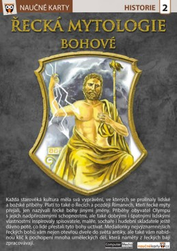 Řecká mytologie Bohové - Naučná karta - neuveden