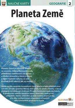 Planeta Země - Naučná karta - neuveden