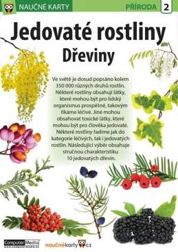 Jedovaté rostliny Dřeviny - Naučná karta - neuveden